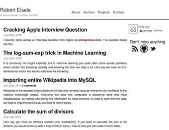 xarg.org screenshot