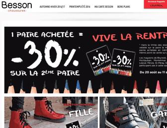 Thumbshot of Besson-chaussures.com