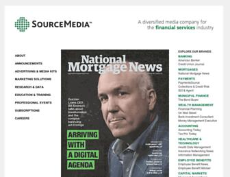 sourcemedia.com screenshot