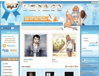 mp3caprice.com screenshot
