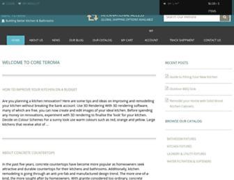 coreteroma.org screenshot