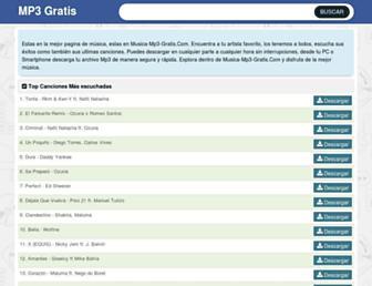 musica-mp3-gratis.com screenshot