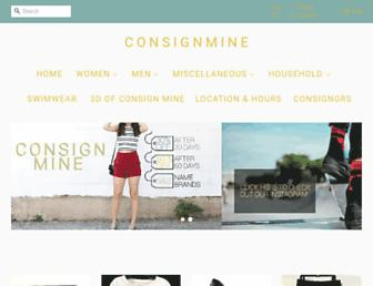 consignmineva.com screenshot