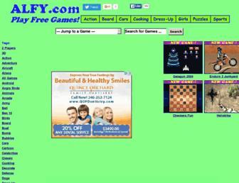 alfy.com screenshot