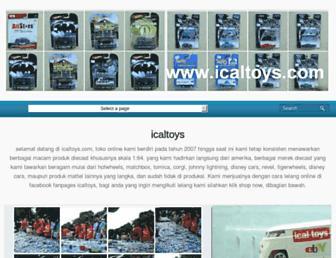 icaltoys.com screenshot