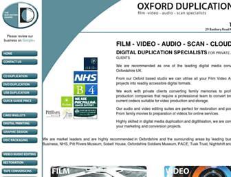 theduplicationcentre.co.uk screenshot
