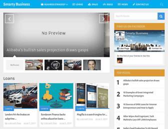 smartybusiness.com screenshot