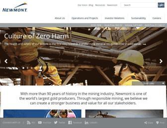 Thumbshot of Newmont.com