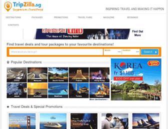 tripzilla.sg screenshot