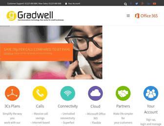 Thumbshot of Gradwell.com