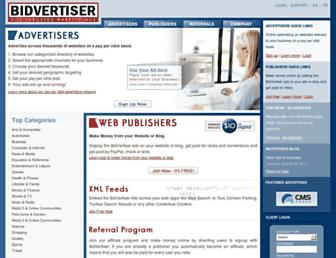 Thumbshot of Bidvertiser.com