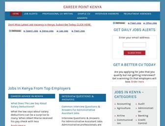 Thumbshot of Careerpointkenya.com
