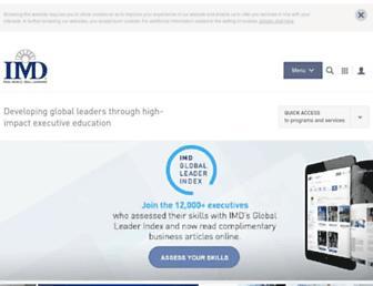 imd.org screenshot