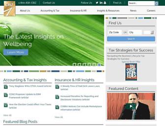 cbiz.com screenshot