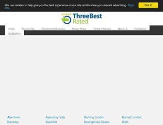 threebestrated.co.uk screenshot