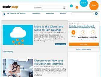 techsoup.org screenshot