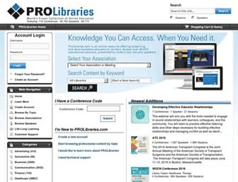 Thumbshot of Prolibraries.com