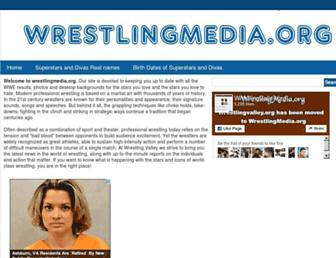 Thumbshot of Wrestlingmedia.org
