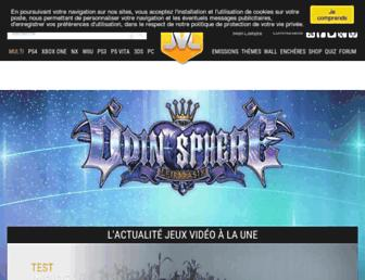 jeuxvideo-live.com screenshot