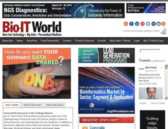 Thumbshot of Bio-itworld.com