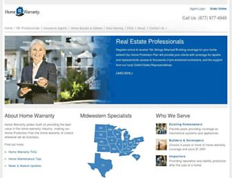 homewarrantyinc.com screenshot