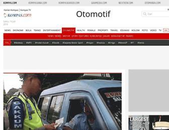 otomotif.kompas.com screenshot