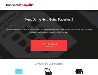 Thumbshot of Documentsnap.com