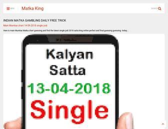 matkaking.info screenshot