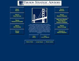 tiburonadvisors.com screenshot