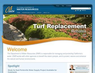 water.ca.gov screenshot
