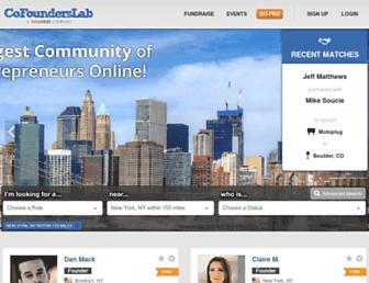 cofounderslab.com screenshot