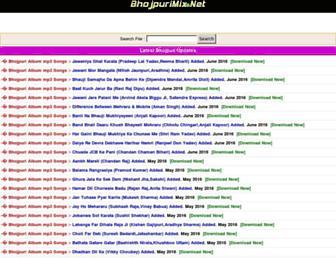 remixbhojpuri.com screenshot