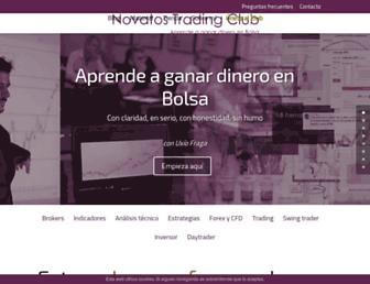 novatostradingclub.com screenshot