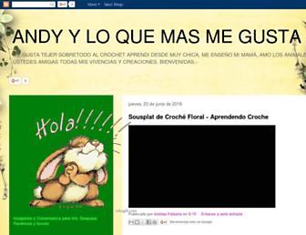 andyyloquemasmegusta.blogspot.com screenshot