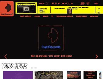cultrecords.com screenshot