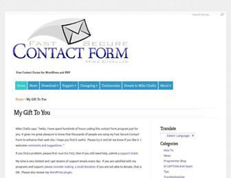 Thumbshot of Fastsecurecontactform.com