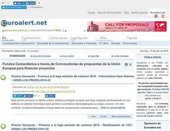 euroalert.net screenshot