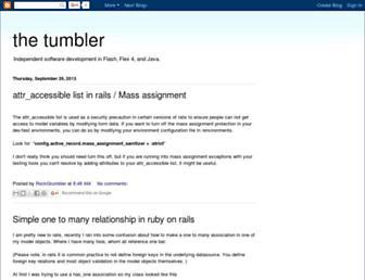 rockgrumbler.blogspot.com screenshot