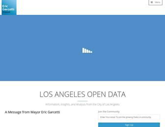 data.lacity.org screenshot