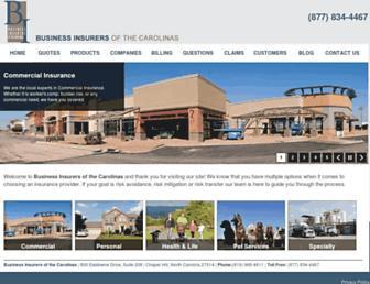 business-insurers.com screenshot