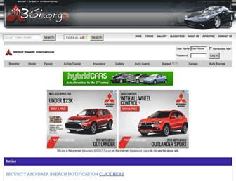 Main page screenshot of 3si.org