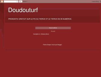 doudouturf.blogspot.com screenshot
