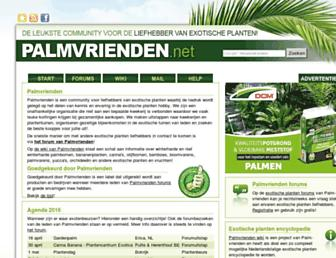 palmvrienden.net screenshot