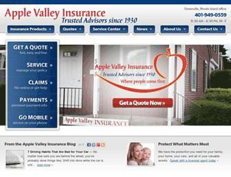 applevalleyagency.com screenshot