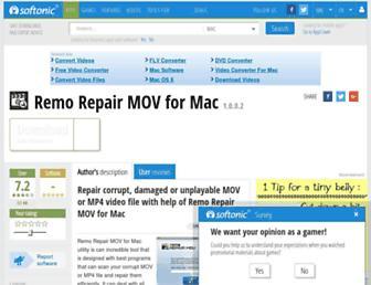 remo-repair-mov-for-mac.en.softonic.com screenshot