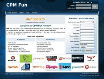 Thumbshot of Cpmfun.com