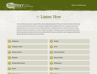 onestory-media.org screenshot
