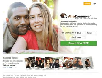 afroromance.com screenshot