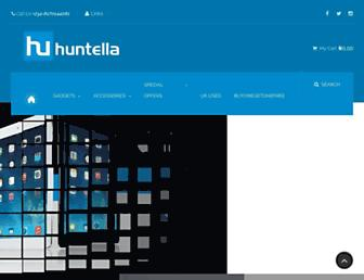 huntella.net screenshot