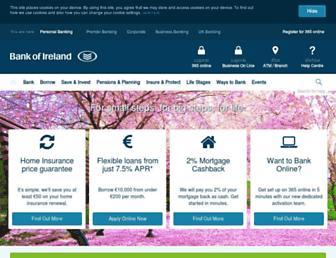 personalbanking.bankofireland.com screenshot